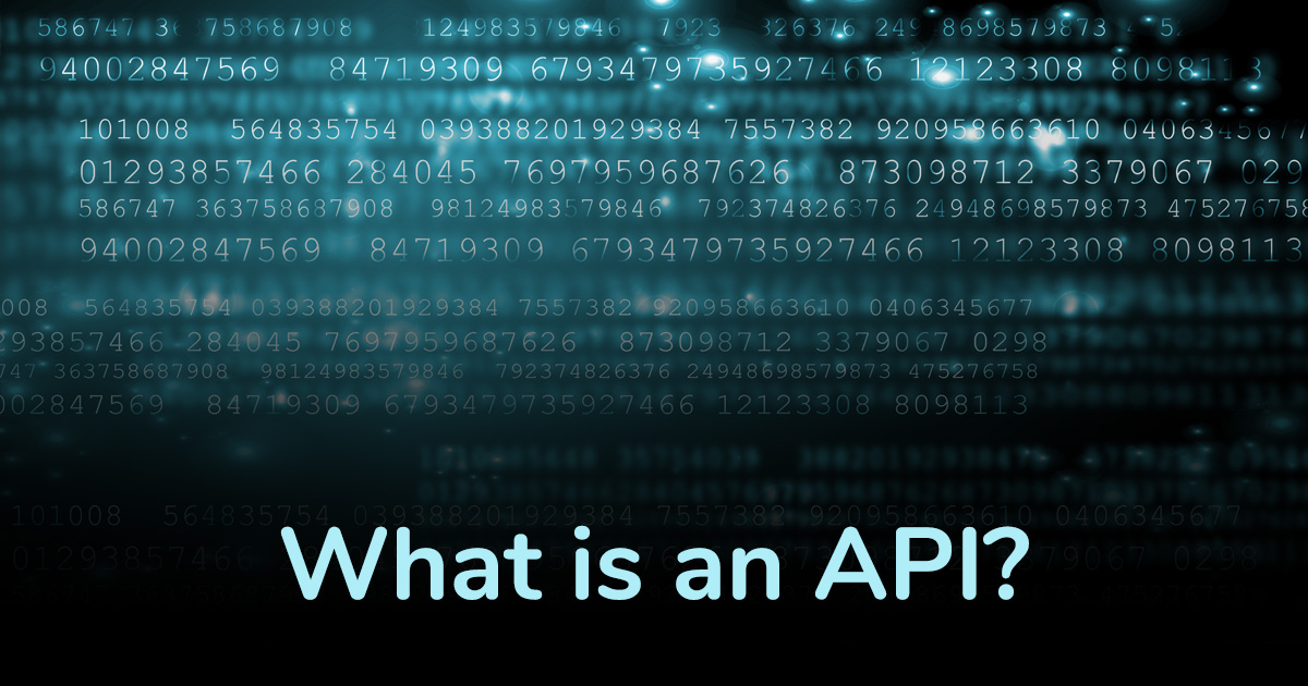 What is an API?